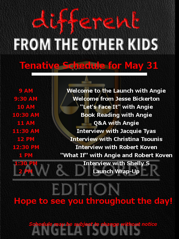Join us on May 31, 2017 to launch the Law & Disorder Edition.